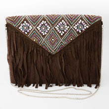 Load image into Gallery viewer, Eurono Beaded Envelope Sling Bag