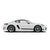 Racelite Designs Porsche Cayman 718 Classic Stripe Kit Gloss Black