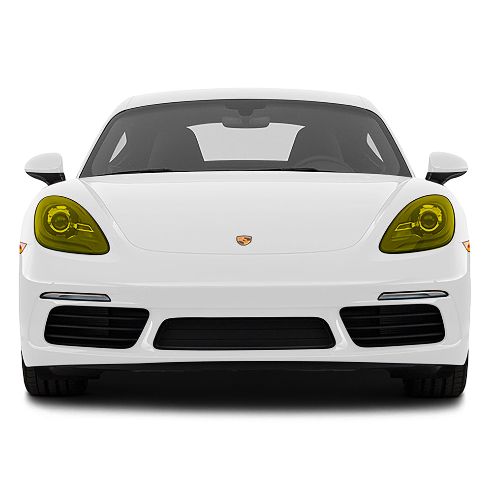 Racelite Designs Porsche Cayman 718 Yellow Headlamp Kit Product Image 1