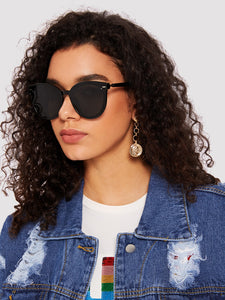 Simple Oversized Sunglasses-An Eternal Summer
