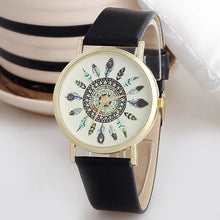 Load image into Gallery viewer, Boho Feather Wristwatch-An Eternal Summer