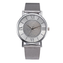 Load image into Gallery viewer, Sparkly Quartz Stainless Steel Wristwatch-An Eternal Summer