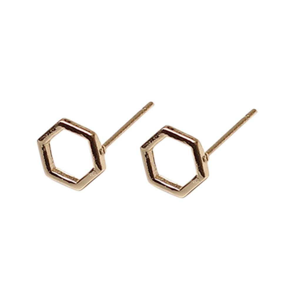 Simple Geometric Earrings-An Eternal Summer