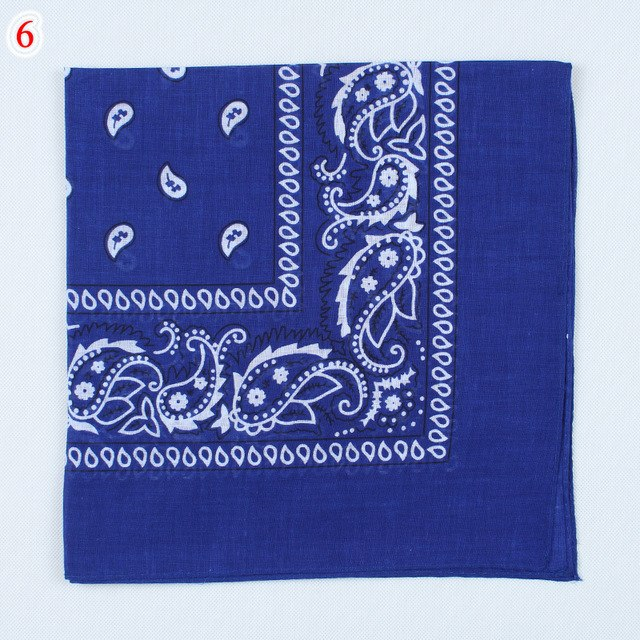 2019 Newest Cotton Blend Hip-hop Bandanas For Male Female Head Scarf Scarves Wristband hot selling-geekbuyig