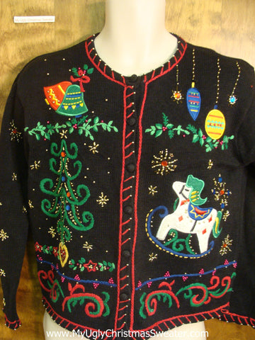 Festive Holiday Fun Bad Christmas Sweater