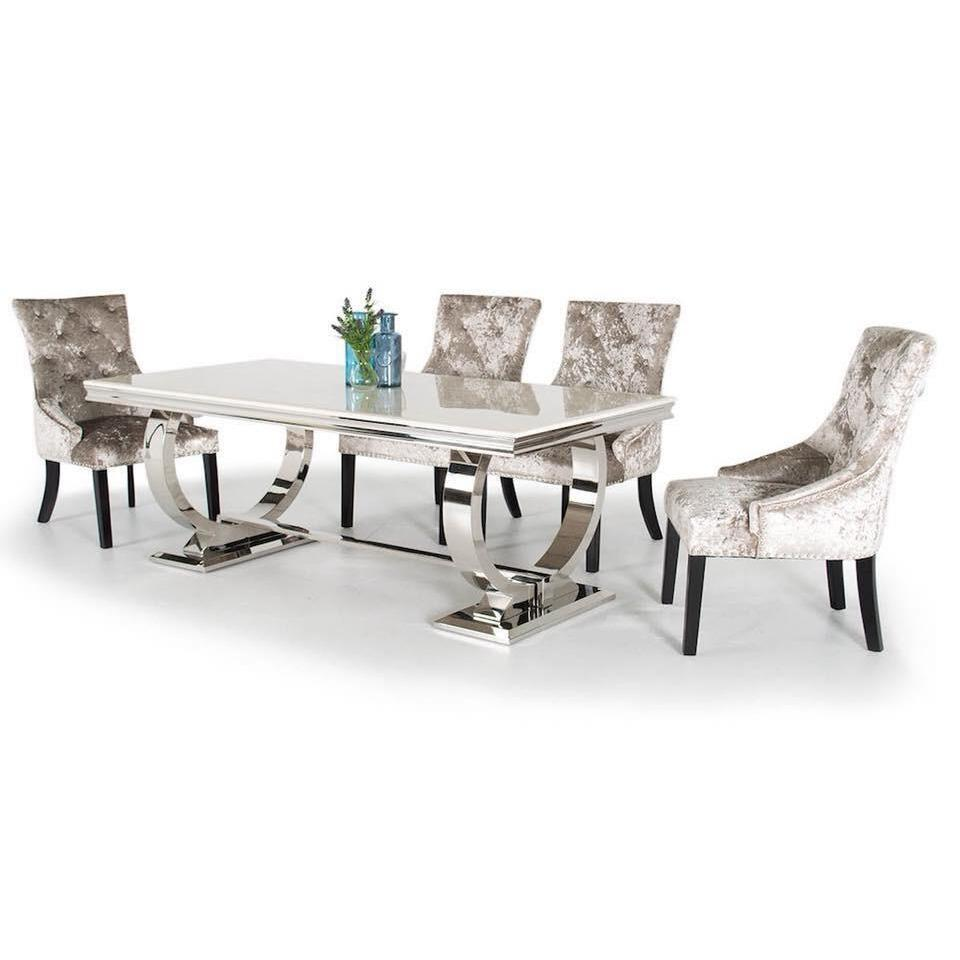 Arianna Cream Dining Set
