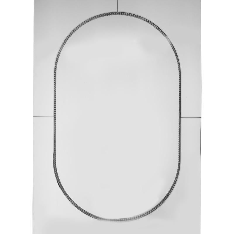 Chic Oval Mirror 80x120cm