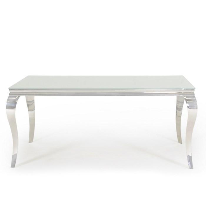 Louis Dining Table 1600mm - White