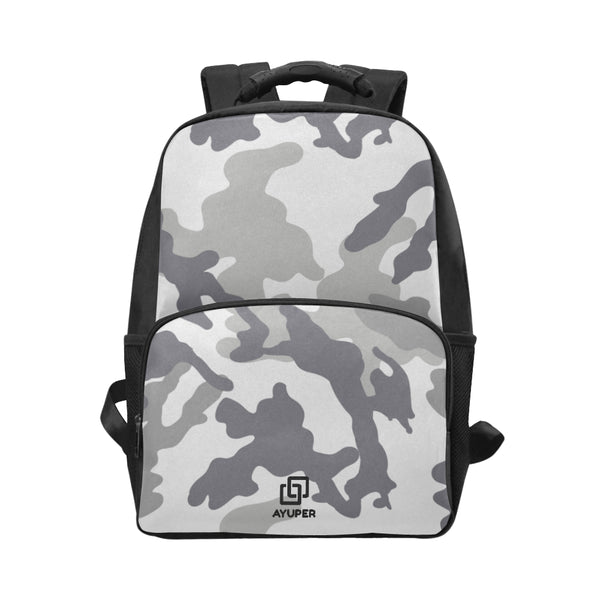 Grey Camouflage BackPack - Ayuper