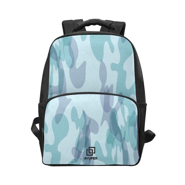 SkyBlue Camouflage BackPack - Ayuper