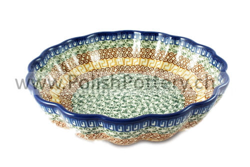 248 Large Scalloped Bowls