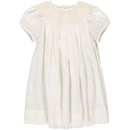 Carriage Boutique Classic Bishop Dress and Bonnet - Cream