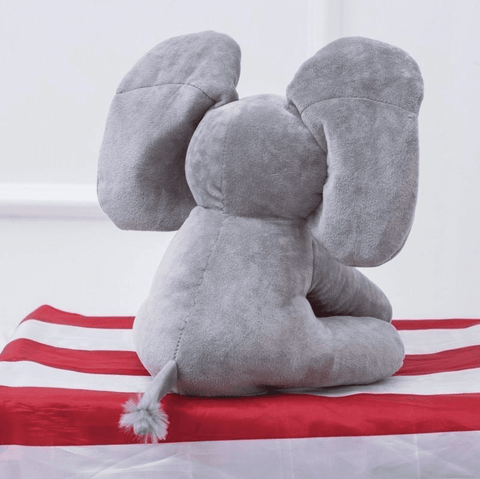 NEW! Peek A Boo - Elephant Plush Doll