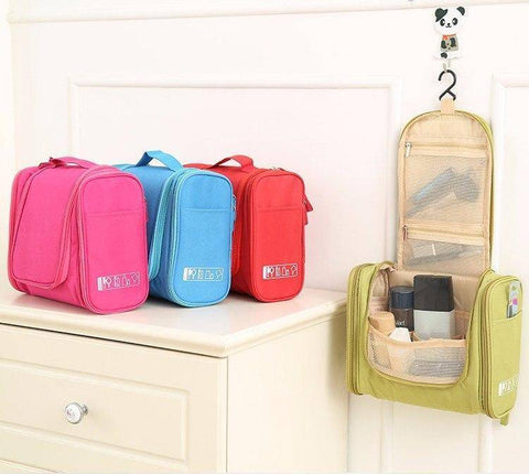 Image of Hanging Travel Cosmetic Bag