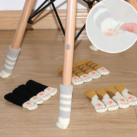 Image of Cat Paw Chair Socks