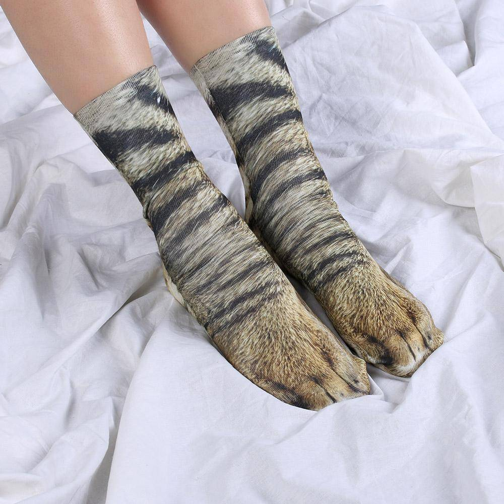 Tiger Paw Socks