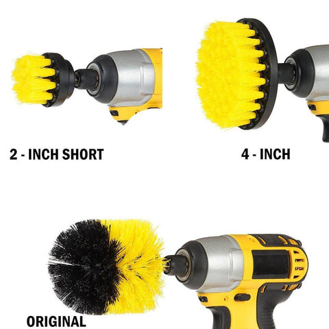 3Pcs/ Power Scrub Drill Brush Kit