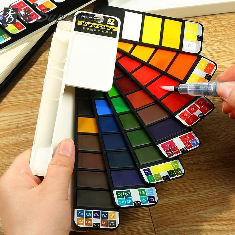 The Ultimate 42 Water Color Kit