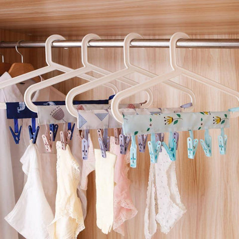 Image of Travel Cloth Hanger Drying Rack