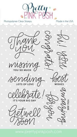Everyday Greetings Stamp Set