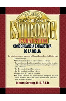 Image of Nueva Concordancia Strong Exhaustiva