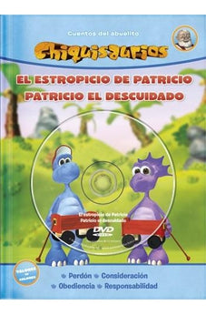 Image of Chiquisaurios Tapa Dura Con Audio Cd Azul