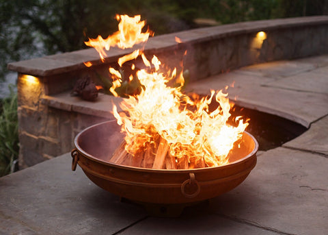 Image of Fire Pit Art - Emperor