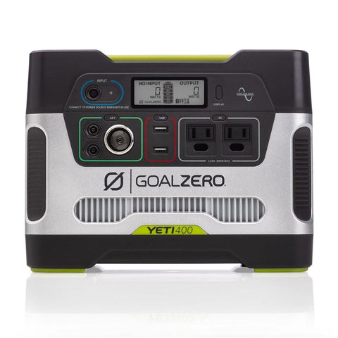 Goal Zero Yeti 400 Power Station + Nomad 28 Plus Solar Kit