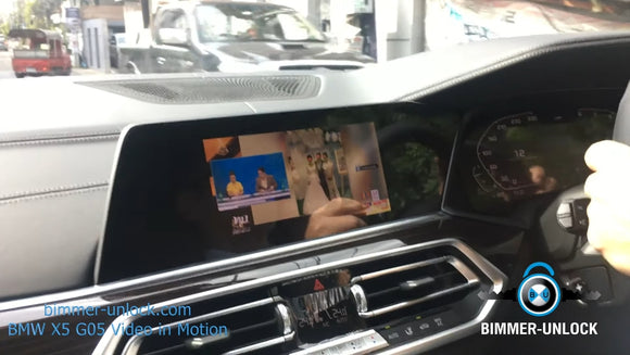 BMW Video in Motion Active by Cable iDrive 7