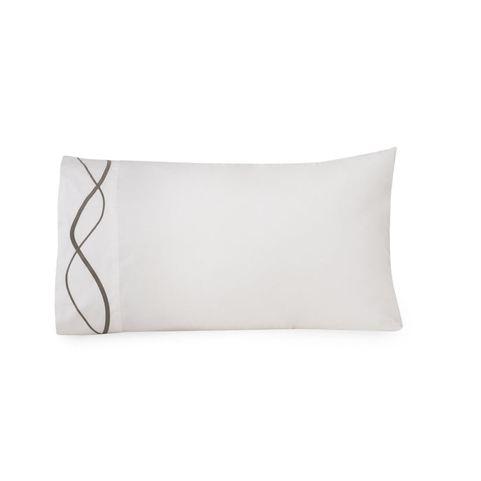 CAPRI EMBROIDERED PILLOWCASE SET