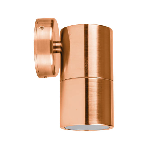 HV1115-HV1117 - Tivah Solid Copper Fixed Down Wall Pillar Lights