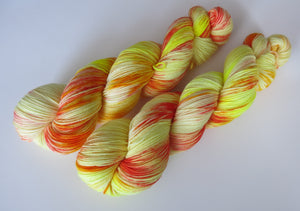 kettle dyed sock yarn for knitting and crochet by my mama knits