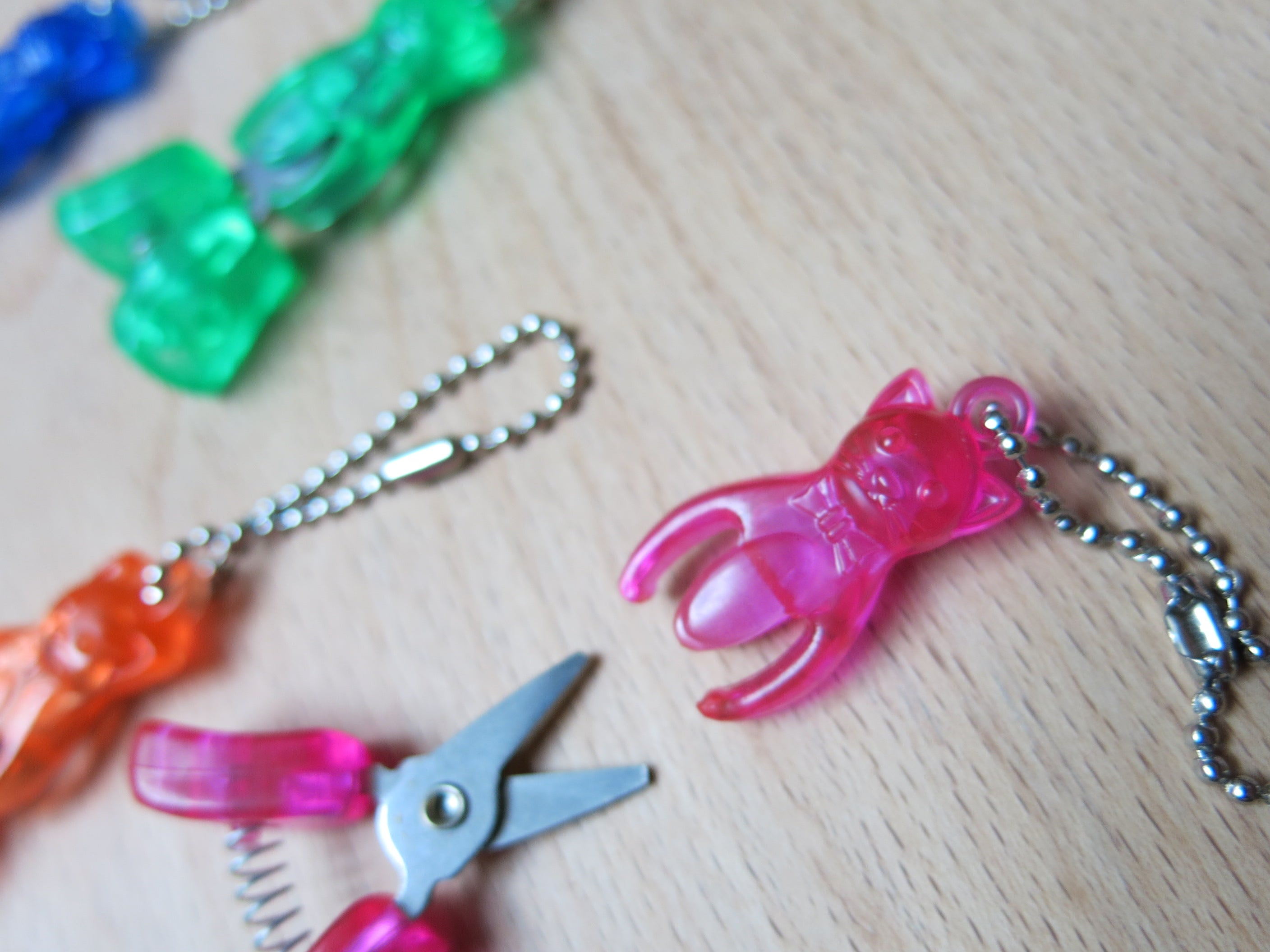 hiyahiya pink kitty yarn snips tool knitting notion