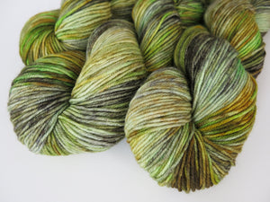 hand dyed yarn with a scottish theme