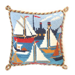 Regatta Mini Kit Needlepoint Kit Elizabeth Bradley Design