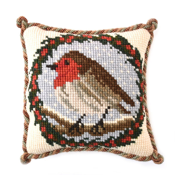 Robin Mini Kit Needlepoint Kit Elizabeth Bradley Design