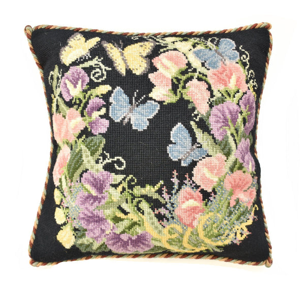 Sweetpeas Needlepoint Kit Elizabeth Bradley Design