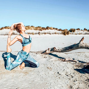 "Tenue yoga femme ""l'exotique""-Yogis on Roadtrip-S-Yogis on Roadtrip"