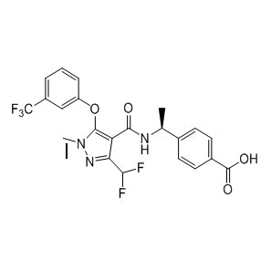 E-7046 Chemical Formula: C22H18F5N3O4 Molecular Weight: 483.41