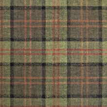 Load image into Gallery viewer, Luxury Dog Bed Tartan Fabric Covers in green