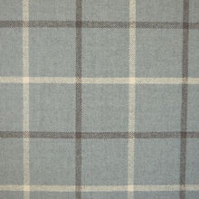 Load image into Gallery viewer, Luxury Dog Bed Tartan Fabric Covers in grey