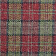 Load image into Gallery viewer, Luxury Dog Bed Tartan Fabric Covers in red