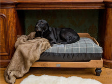Load image into Gallery viewer, Luxury Dog Bed in Tartan by Berkeley