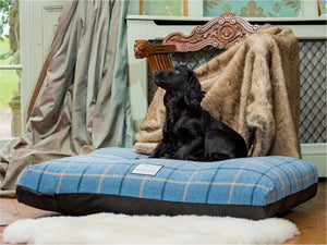 Luxury Dog Bed Tartan Fabric Covers by Berkeley