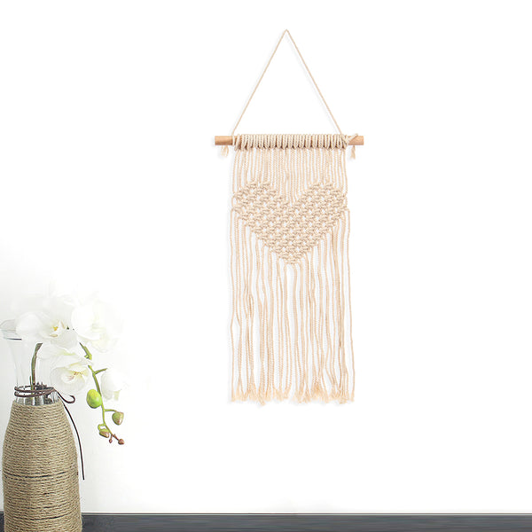 Bohemian Style Handmade Knitting Wall Hanging Tapestry