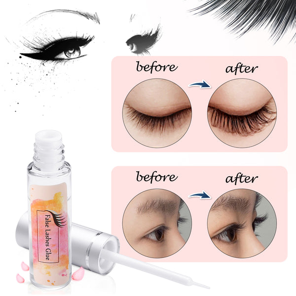 DIY Natural Eyelash Perming, Curling, Extension Lotion & Liquid Set