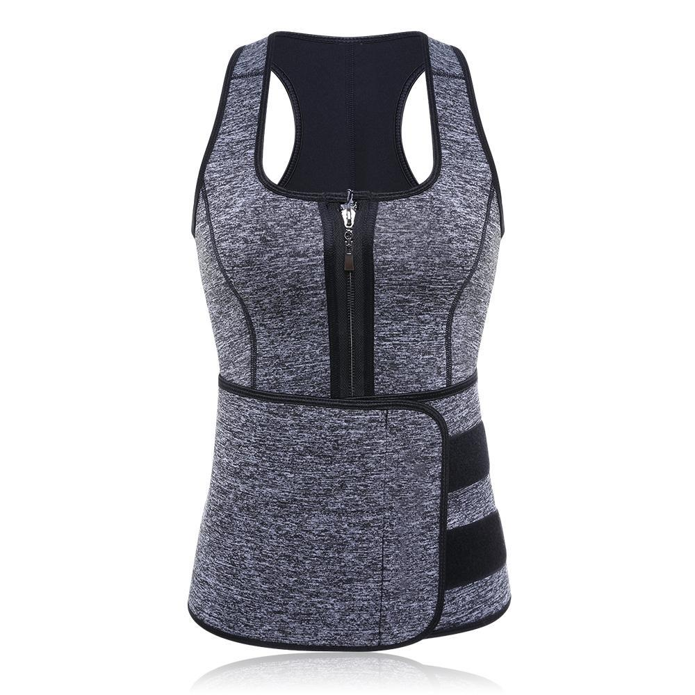 Sauna Suit Tank Top-Luckyfine