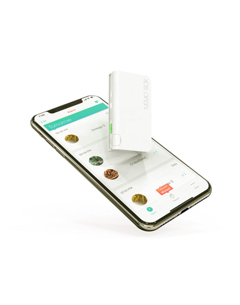 Memo Box Mini - Smallest Smart Pillbox