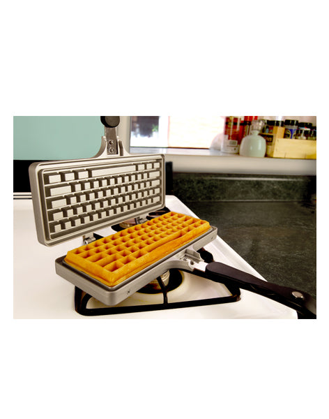 The Keyboard Waffle Iron