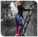 VA Pink/Blue Fitness Yoga Pants
